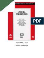 Ribla 16 - Urge La Solidaridad