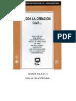Ribla 21 - Toda La Creacion Gime...