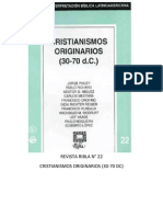 Ribla 22 - Cristianos Originarios (30-70 d.c.)