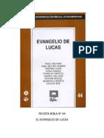 Ribla 44 - Evangelio de Lucas