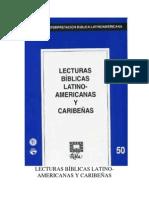 RIBLA 50 - LECTURAS BIBLICAS LATINOAMERICANAS Y CARIBEÑAS