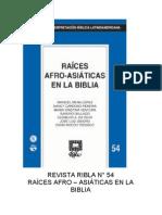 Ribla 54 - Raices Afro-Asiaticas en La Biblia
