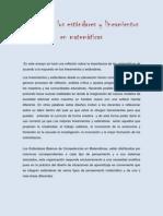 Analisis de lineamientos y estandares en matemáticas.