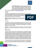 Responsabilidad Social Empresarial su origen, evolución y desarrollo en Colombia