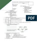 Prueba de Estructura y Dinamica Del Ecosistema 2012