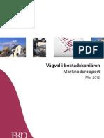BKN Marknadsrapport maj 2012