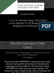 Attitudinal Changes Powerpoint - ePortfolio