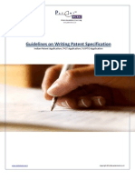 Patent Drafting Guidelines