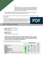 Questionário Brand Equity - Heineken Respondido