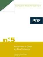 Caderno 5 as Entidades de Classe e Etica Profissional