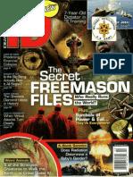 Ideas&Discoveries Magazine Cover, The Secret Freemason Files, Feb 2012