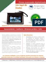 Firma Avanzada Digitalizada EADTrust