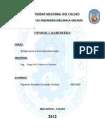2do Informe Refrig