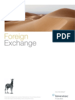 Investec Private Bank Foreign Exchange Fact Sheet