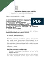 Correccion Empleado Administrativo Estaciones de Servicio]