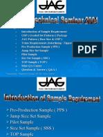 JAG QA Technical Seminar ( 0307 )
