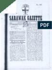 1884 Sarawak Gazette