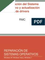 Reparación del Sistema Operativo