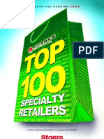 Top 100 US Speciality Retailers