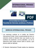 Derecho Internacional Privado 1