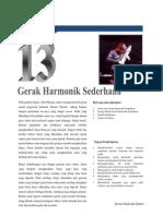 Bab 13 Gerak Harmonik Sederhana
