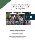 Comisiones CECSO 2013