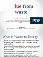 Value From Waste