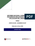 informe nacional sobre los progresos realizados en la aplicación del ungass 2006-2007 - onusida