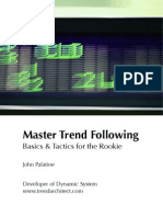 Master Trend Following