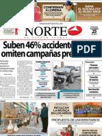 Periodico Norte de Ciudad Juárez 25 de Noviembre de 2012