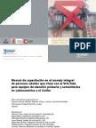 manual de capacitación en el manejo integral de personas adultas que viven con el vih-sida para equipos de atención primaria y comunitarios en latinoamérica y el caribe