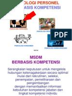 Materi Msdm Berbasis Kompetensi