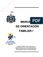 Manual de orientación familiar