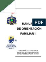 Manual de orientación familiar