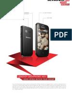 Lenovo smart  phone