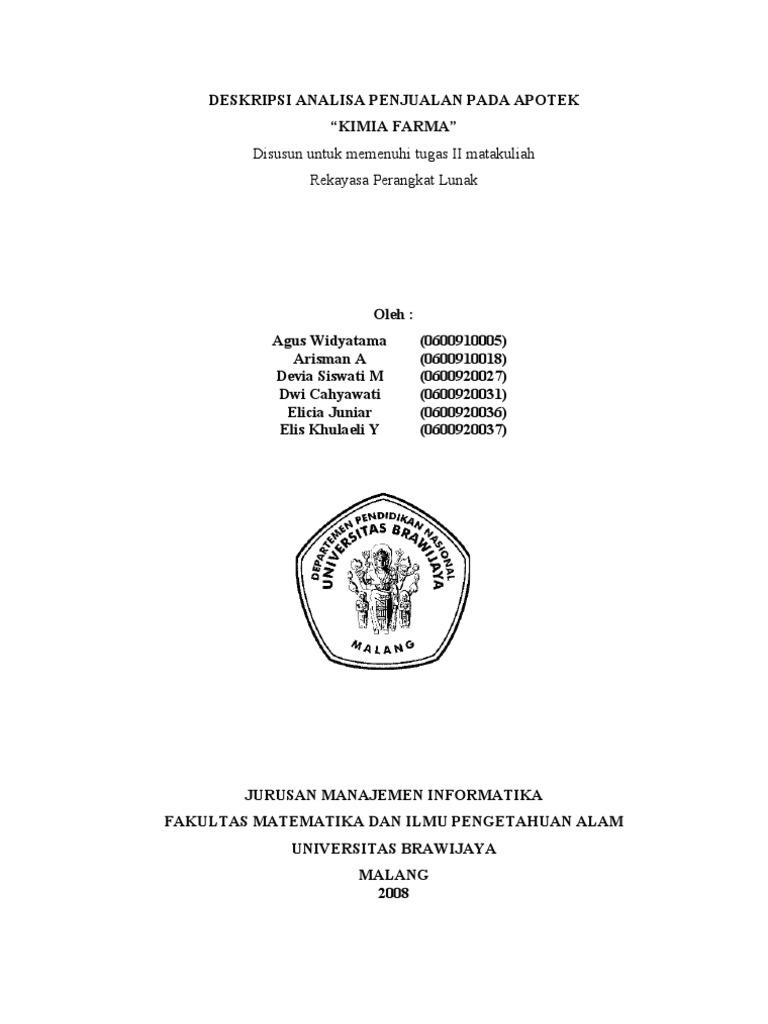40113673 laporan sistem informasi apotik ccuart Gallery