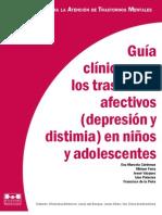 Guía clínica para los trastornos afectivos  depresión y distimia en niños y adolescentes