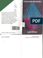 La Historia y Las Ciencias Sociales.-braudel V2