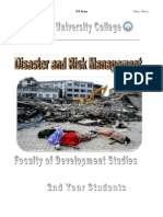 Disaster and Risk Management