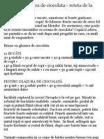 Briose Cu Glazura de Ciocolata Jamie Oliver