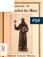 History of St. Benedict the Moor Catholic Colored Mission. (1912)