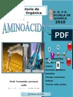 aminoacidos laboratorio