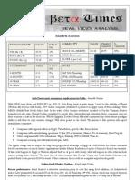 Beta Times Markets Edition11