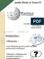 How Wiki Works