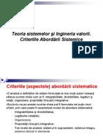 7. TS IV 2 Criteriile abordării sistemice.ppt