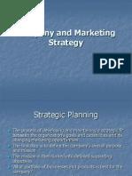 Company and Market Strategy
