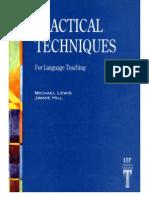 Practical Techniques for Language Teaching[1]