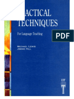 Practical Techniques for Language Teaching[1]