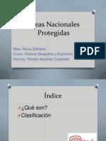 Áreas Nacionales Protegidas