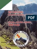 Diccionario Quechua - Español de la Academia Mayor de la lengua Quechua